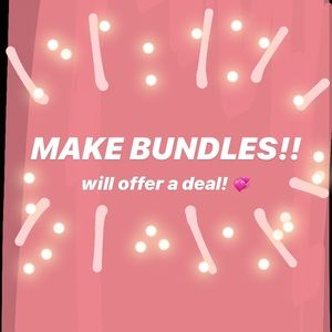 Other - Love to offer deals!! :)